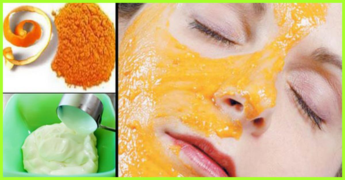 orange face pack homemade
