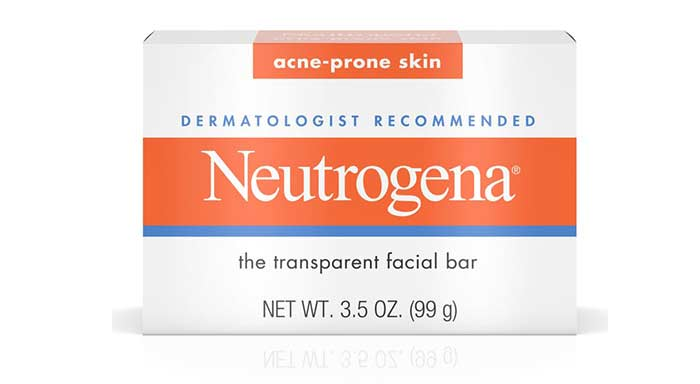 1. Neutrogena The Transparent Facial Bar – Acne-Prone Skin