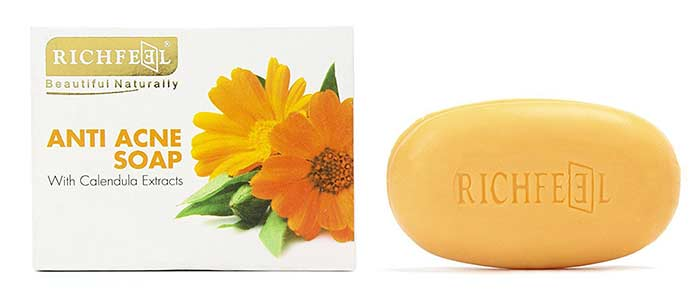 10. Richfeel Anti Acne Soap