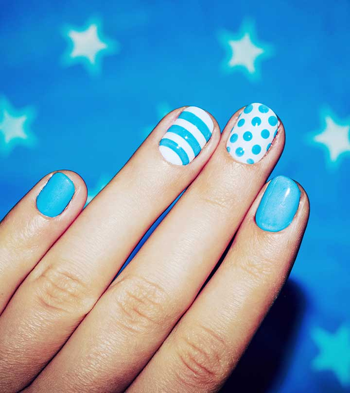 60 Trendy Nail Art Designs For Short Nails