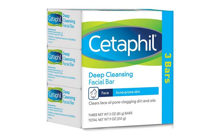2. Cetaphil Deep Cleansing Facial Bar