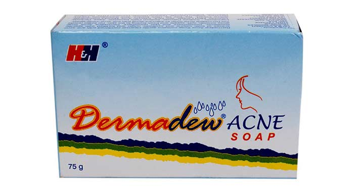 5. Dermadew Acne Soap