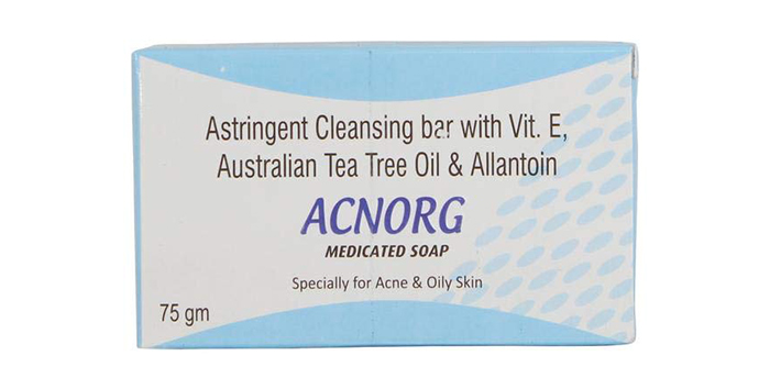 8. Acnorg Medicated Soap