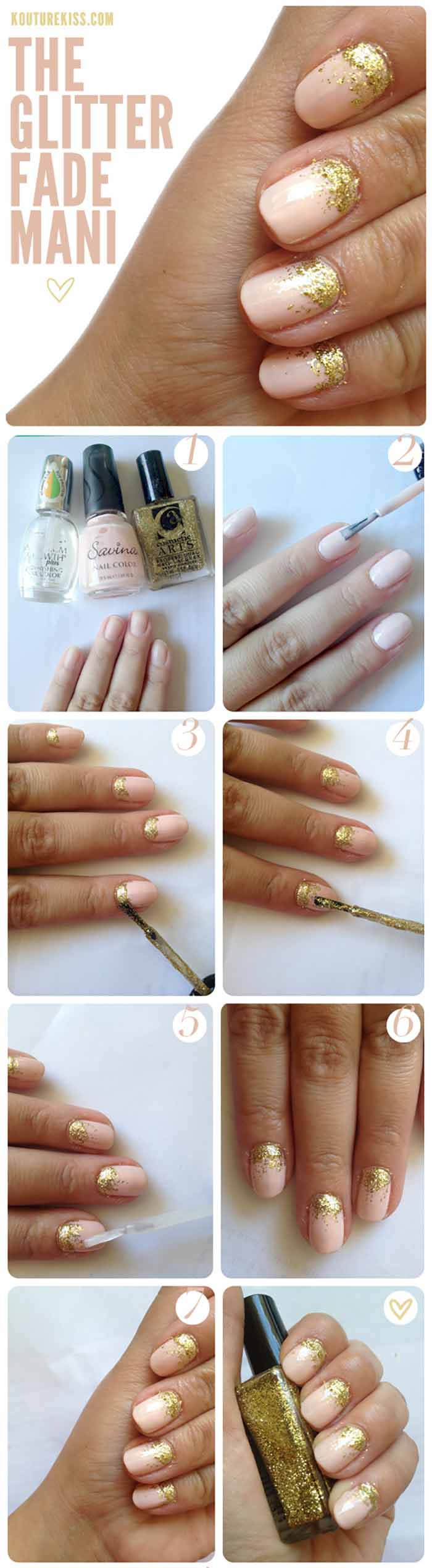 60 Trendy Nail Art Designs For Short Nails Innerline Beauty