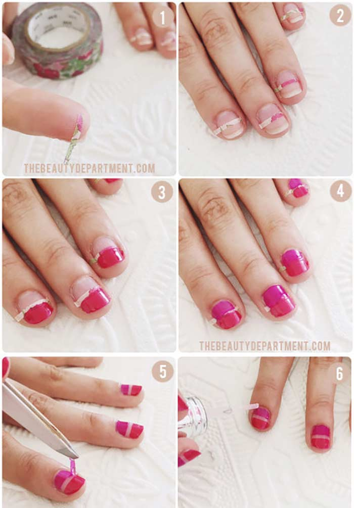 Spring Manicure - Cute Nail Design for Short Nails