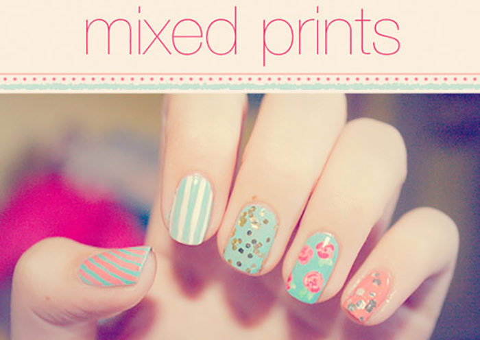 Aesthetically Mismatched - Cute Nail Designs for Short Nails