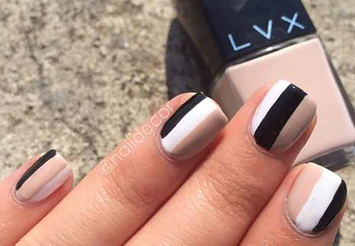 Third Time's A Charm Nail Idea for Short nails