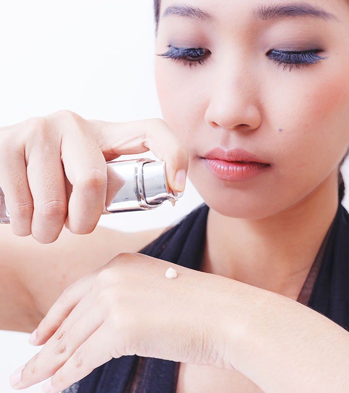How to apply makeup to asian