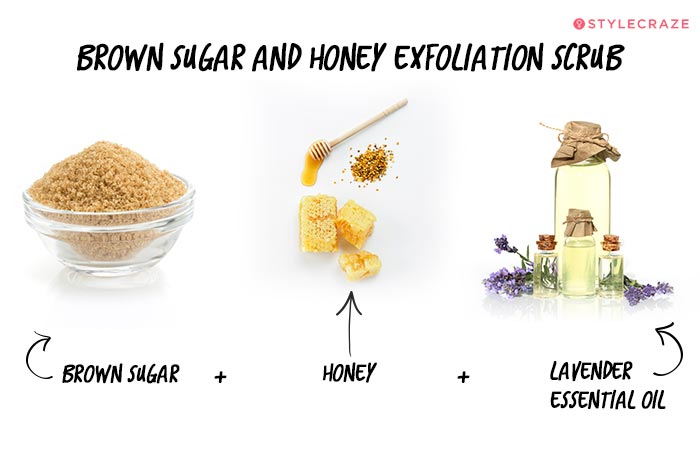 Homemade Lip Scrub - Brown Sugar And Honey Exfoliation Scrub