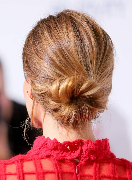Messy Twisted Donut Bun