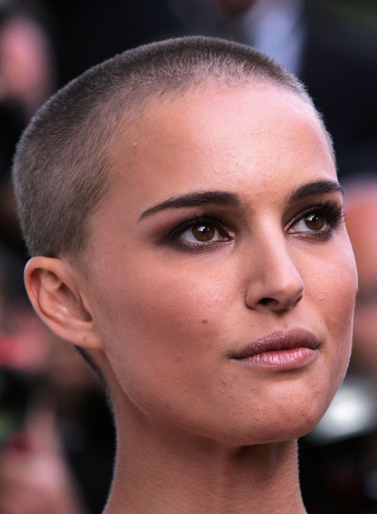 Buzz Cut or Almost-Bald Hairstyle