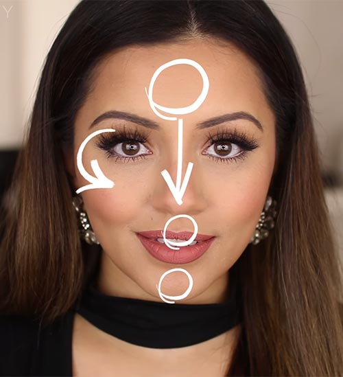 Step 2 Strategically Map Out Your Face