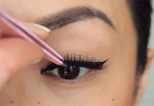 How To Apply Liquid Eyeliner - Step 4 Add Some Lash Action