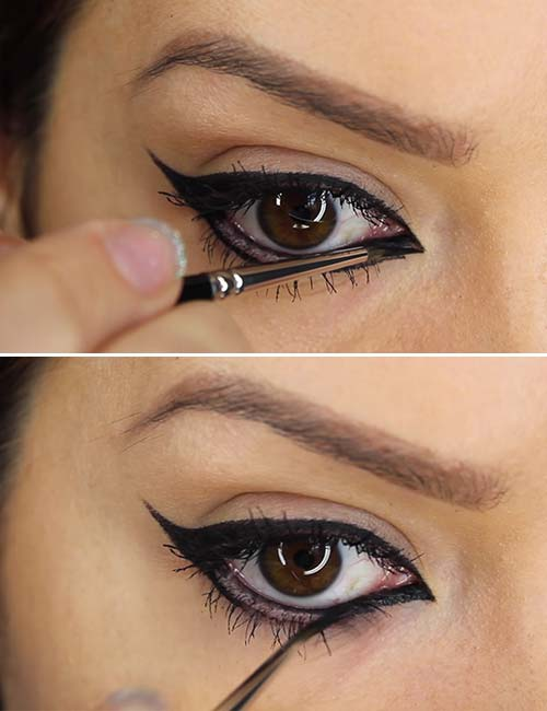 How To Apply Liquid Eyeliner - Step 4 Fill In The Color