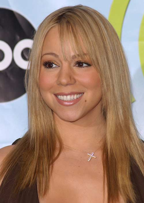 "The ""Mariah Carey"" Bangs"
