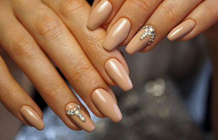 Ballerina Shaped Nails Pinit
