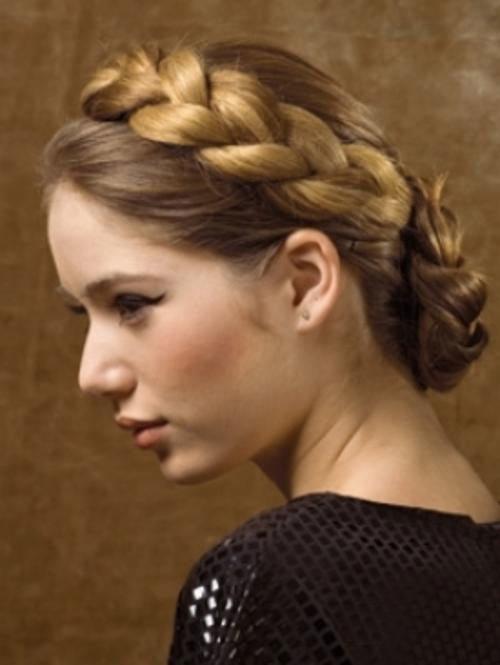 Superb Braided Bun Hairstyles For Long Hair Latest Hairstyles Short Hairstyles Gunalazisus