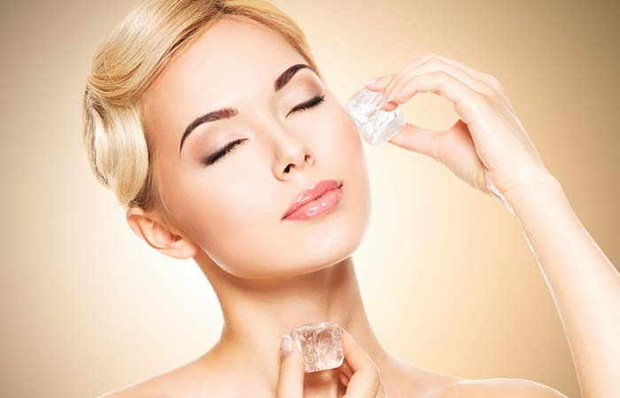 Benefits Of Rubbing Ice Cubes On Face - Makes Your Foundation Look Flawless