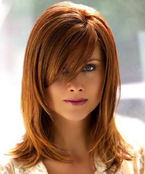 Layered hairstyles look good on medium hair too. We have some just for ...