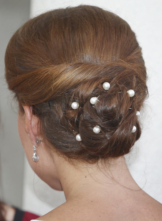 Semi-High-Twisted-Bun-with-Crystal-Bobby-Pins