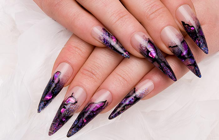 Stiletto Shaped Nails