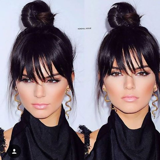 Hairstyles For Chubby Faces 20 cool hairstyles for fat women 12 The High Bun