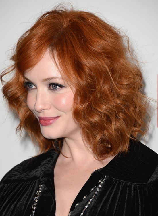 Wavy-Tousled-Short-Shiny-Brown-Bob