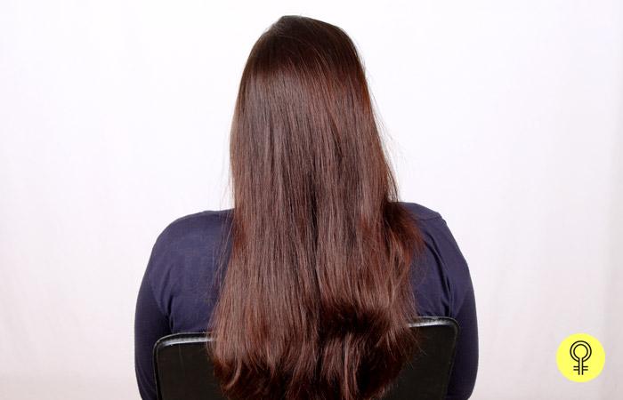 dry or damp hair
