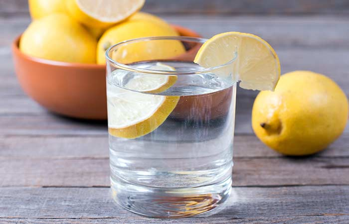 15. Lemon Water