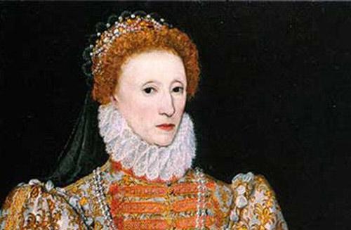 伊丽莎白女王在16世纪