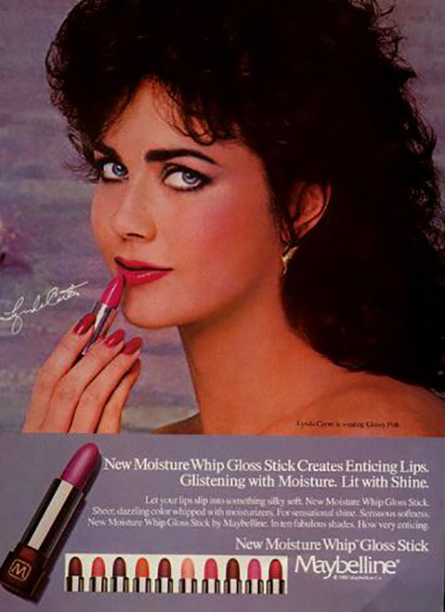 History Of Lipstick In 1980's