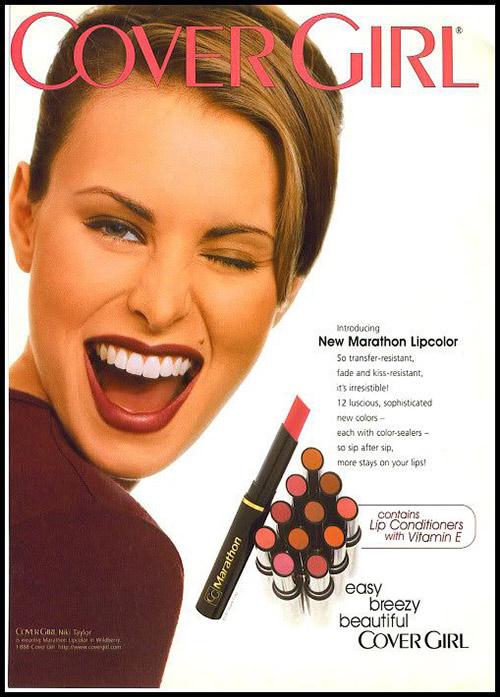 1990s Lipstick History