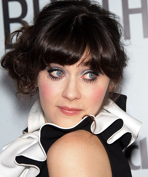 28. Zooey Deschanel With World's Most Beautiful Eyes