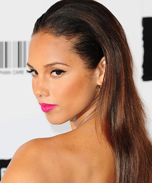 30. Alicia Keys With Most Beautiful Eyes