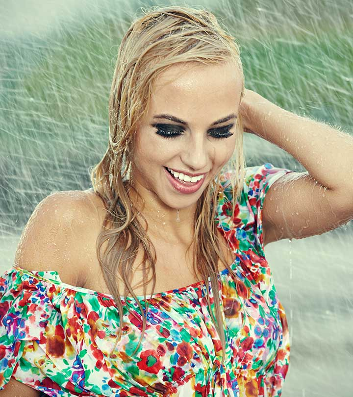 6 Hair Care Tips After Getting Drenched In Rain
