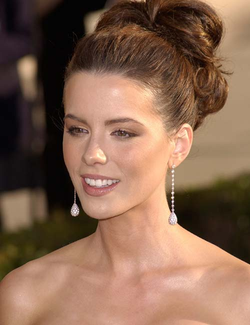 4. Curled Updo