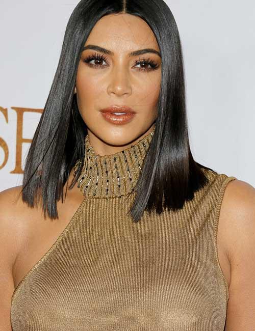 5. Poker Straight Hair