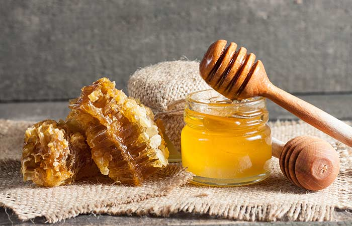 7. Honey Hair Mask