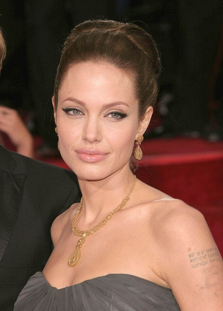 Angelina Jolie Makeup Eyes