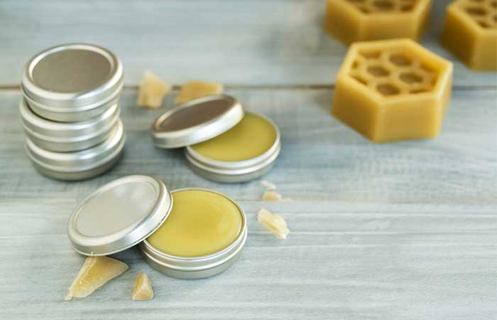 DIY Beeswax And Coconut Lip Balm