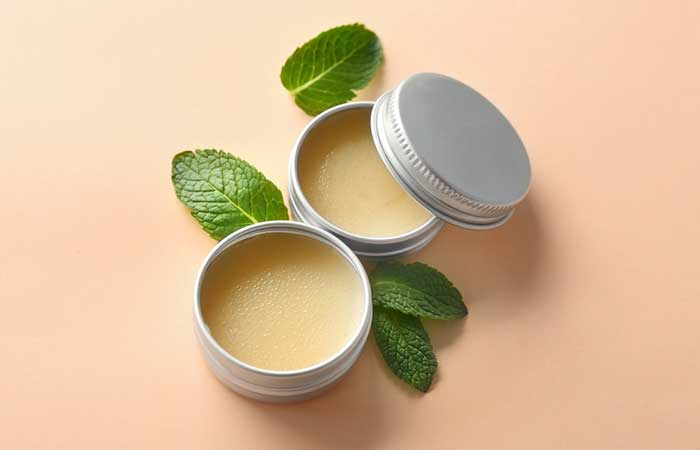 Homemade Lip Balms - DIY Peppermint Oil Lip Balm