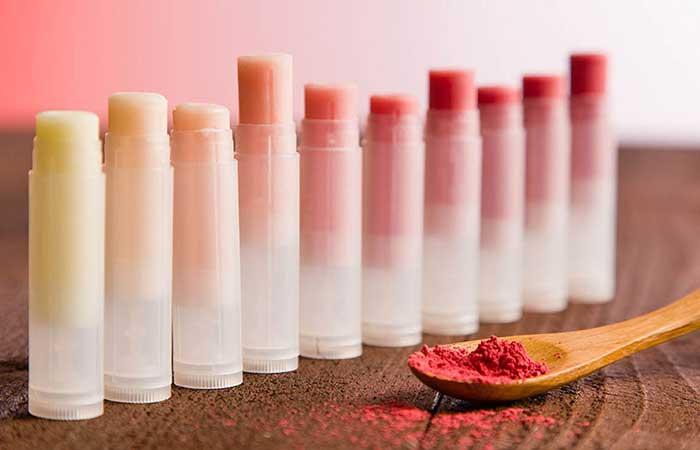 Homemade Lip Balms - DIY Pure Essential Oil Lip Balm