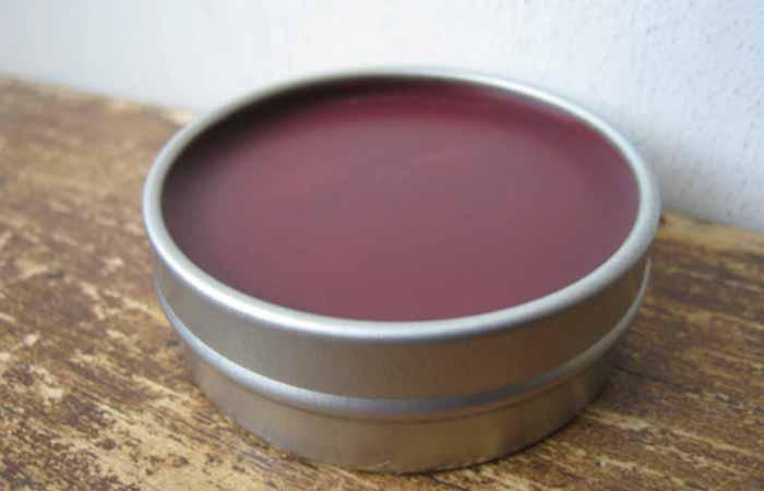 Homemade Lip Balms - DIY Rose Lip Balm