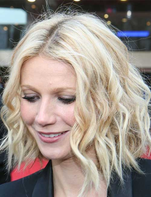 Hairstyles For Heart-shaped Face - Gwyneth Paltrow