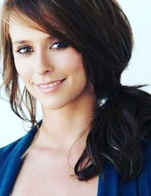 Hairstyles For Heart-shaped Face - Jennifer Love Hewitt