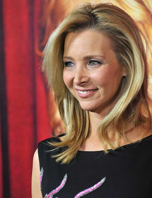 Hairstyles For Heart-shaped Face - Lisa Kudrow