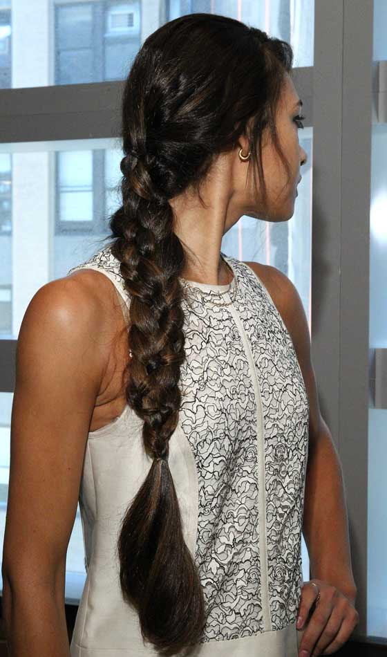 Long edgy Braid