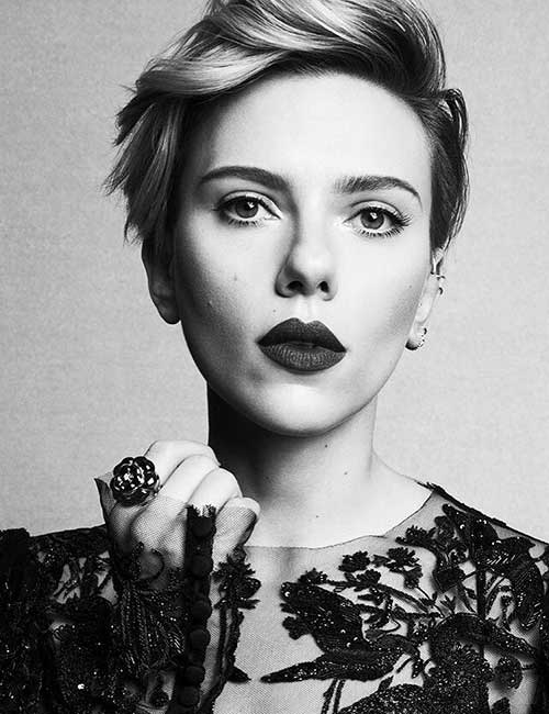 Hairstyles For Heart-shaped Face - Scarlett Johansson