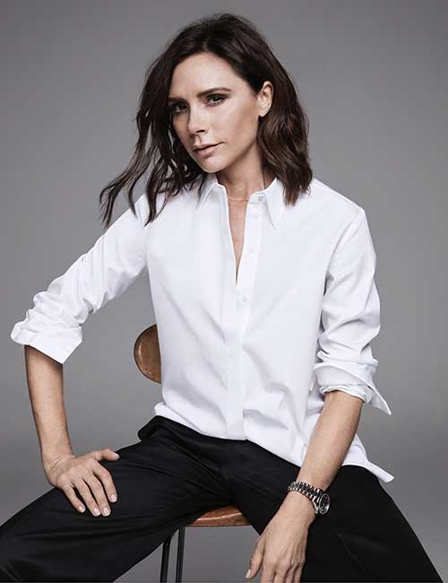 Hairstyles For Heart-shaped Face - Victoria Beckham