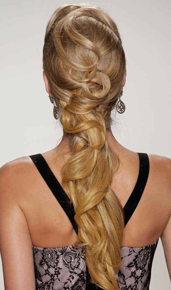 Weaved Curly Elegance